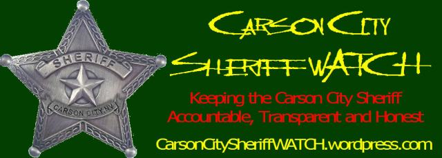 Carson city sheriff WATCH